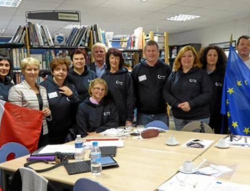 Une délégation européenne au lycée des Rimains