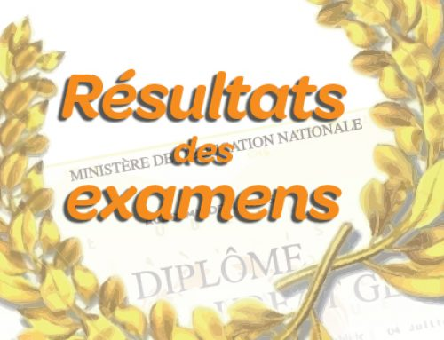 Résultats aux examens 2017