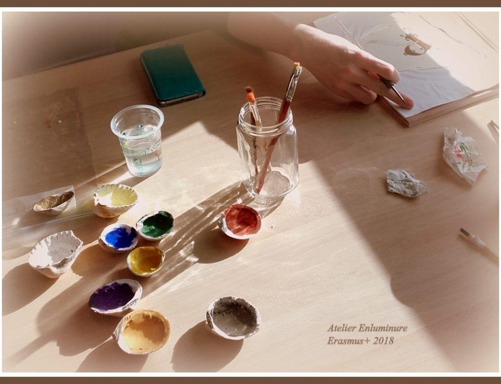 Atelier enluminures