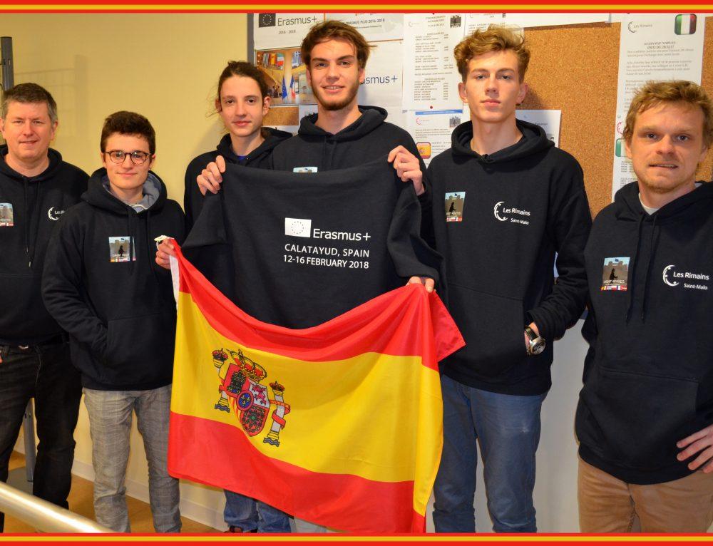 Les élèves du lycée découvrent l'Aragon dans le cadre d'Erasmus+