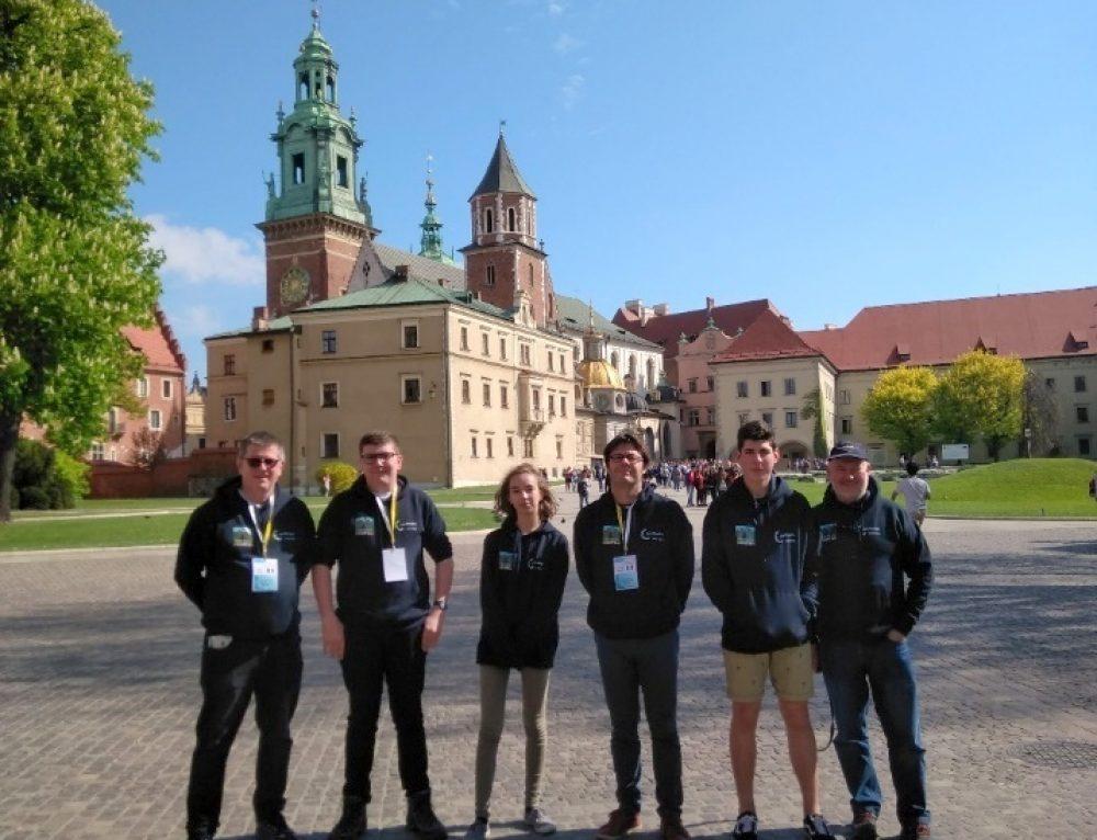 Trois élèves du lycée animent la dernière réunion Erasmus + en Pologne