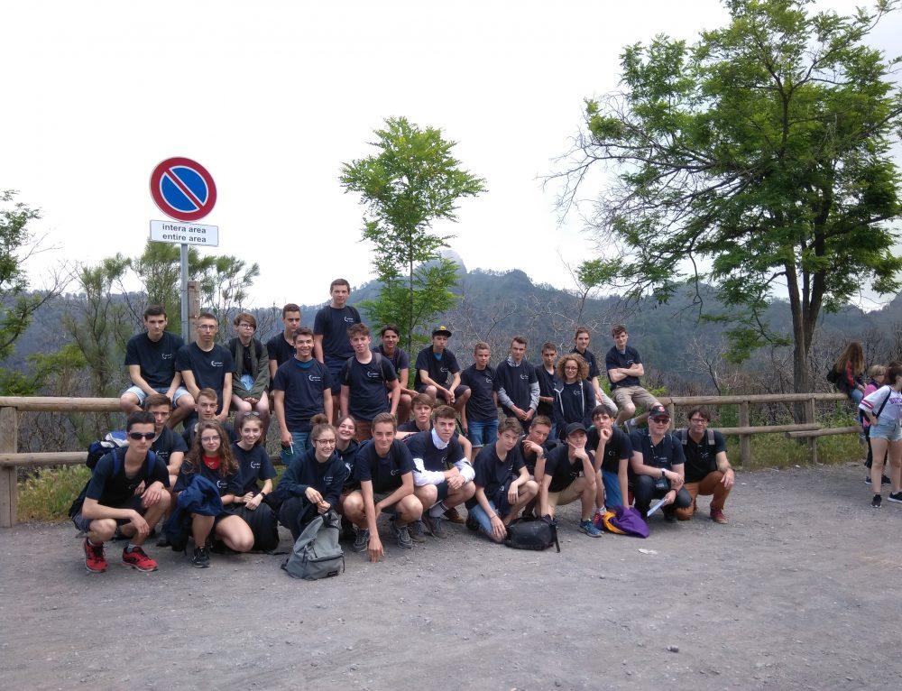 Les élèves de seconde découvrent la vie napolitaine