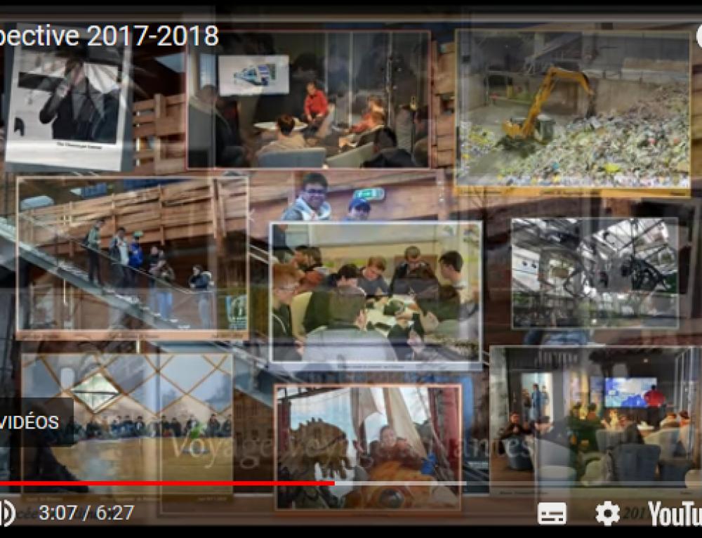 L'année scolaire 2017-2018 en vidéo