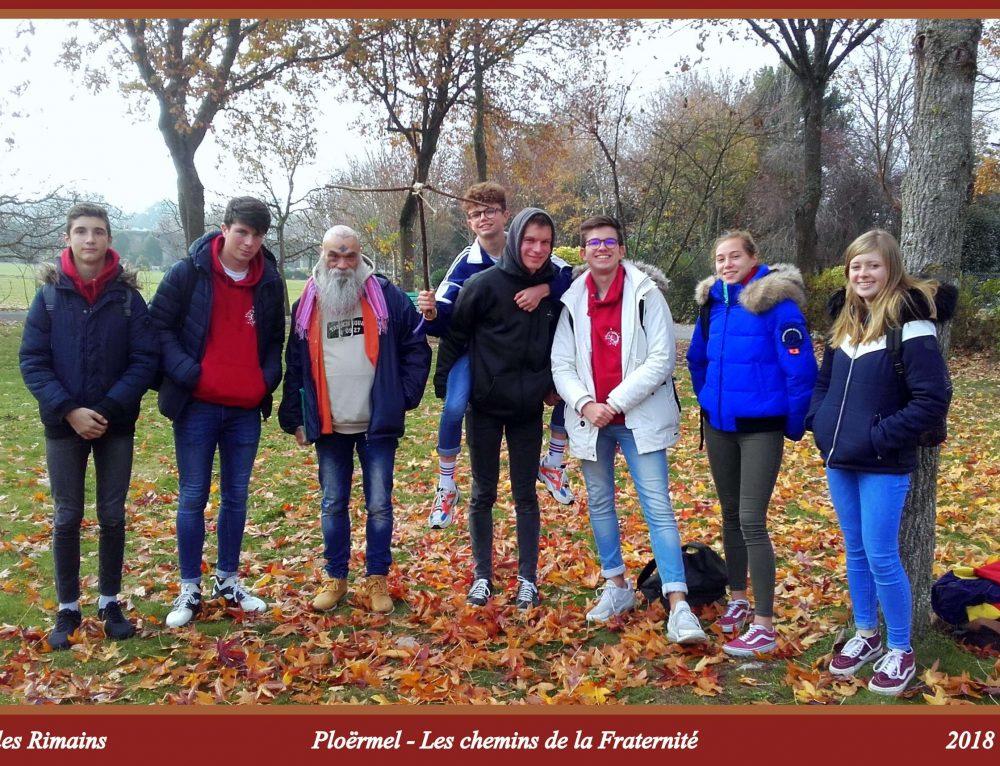 Les secondes sur les chemins de la Fraternité à Ploërmel avec Pierre Favre