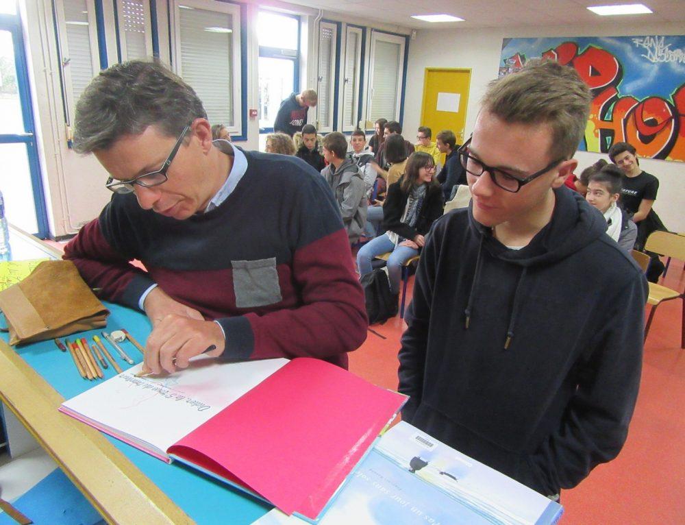 Rencontre littéraire à Rennes – Goncourt des Lycéens 2018