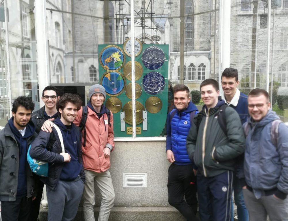 8 élèves de la classe de CPNI ont représenté Les Rimains à Ploërmel